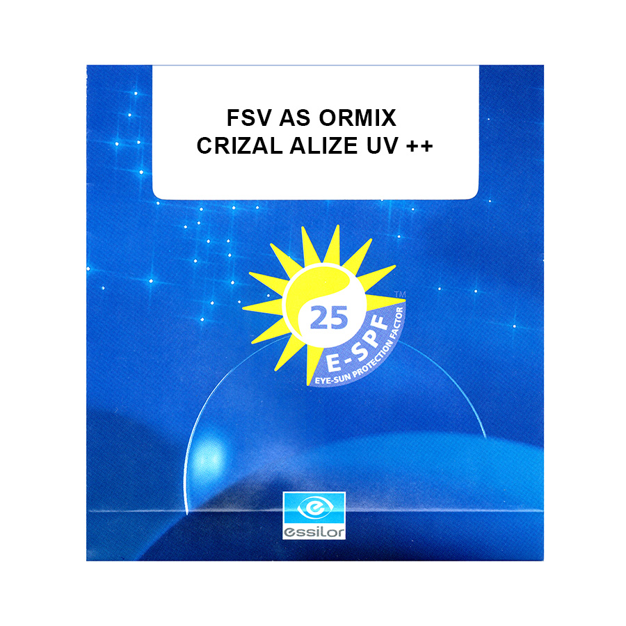 Ormix 1,61 Crizal Alize+