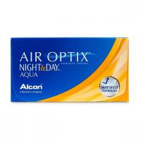Air Optix Night & Day Aqua (нулевые)